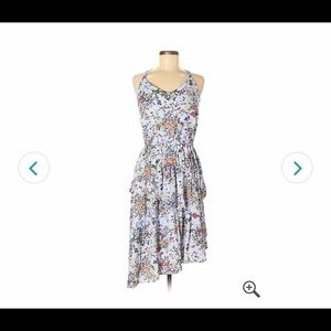 A New Day Purple Floral Dress NWT